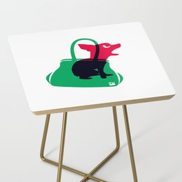 Angry animals: chihuahua - little green bag Side Table