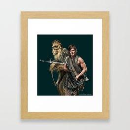 crossbow warriors Framed Art Print