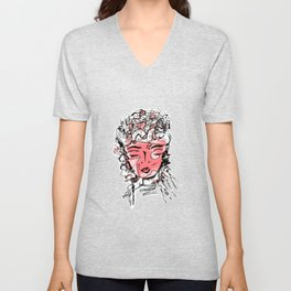 Gypsy Soul Feel Good Abstract Doodle Unisex V-Neck