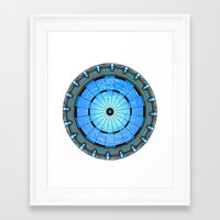 stargate Framed Art Prints featuring Stargate Board by spacemonkey89