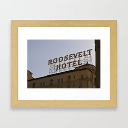 The Roosevelt Framed Art Print