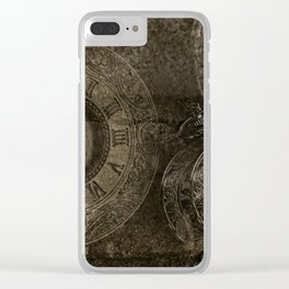 Too Much Time Clear iPhone Case