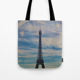 Eiffel Tower, Paris (Landscape) Tote Bag