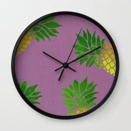 PIna Colada Time Wall Clock