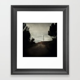 start where you are Framed Art Print