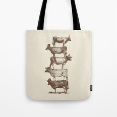 Cow Cow Nuts Tote Bag