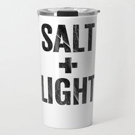 Salt & Light Cross Bible Christian Matt 513 17 Black Diss Travel Mug