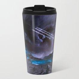 Extraterrestrial Landscape : Galaxy Planet Travel Mug