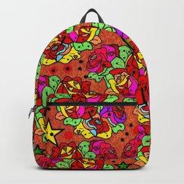 Rose Popart by Nico Bielow Backpack