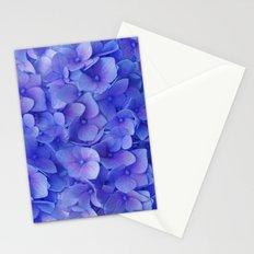 Hydrangea blue Stationery Cards