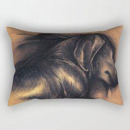 Dackel Rectangular Pillow