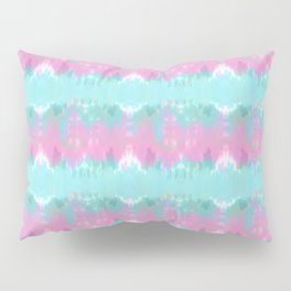 Summer Vibes Tie Dye in Cotton Candy Pillow Sham