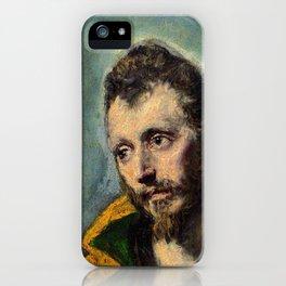 "El Greco (Domenikos Theotokopoulos) ""Saint Maurice"" iPhone Case"