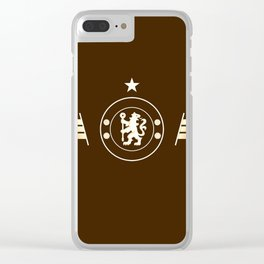 football team logo team Clear iPhone Case