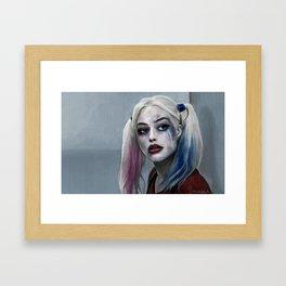 Harley Quinn - The Clown Princess Of Gotham Framed Art Print
