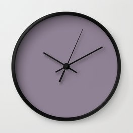 Purple Ash Wall Clock