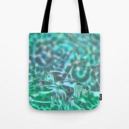 Underwater wreck Tote Bag