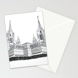San Diego LDS Temple Ink Drawing Stationery Cards