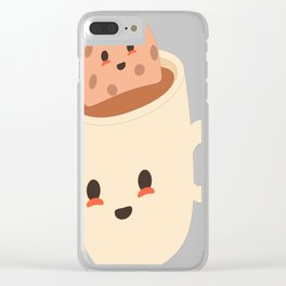 Cookies-and-Mugs---Mug-Inception Clear iPhone Case