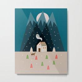 Winterworm Metal Print