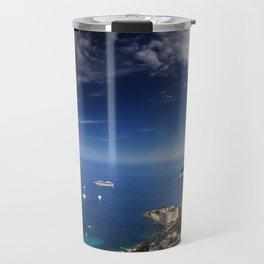 Monaco, French riviera, Sea side, Coastline, Riviera, holiday Travel Mug