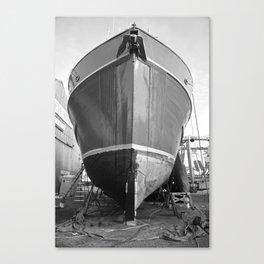 Shipyard Boat II Canvas Print