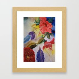 Purity and strength Framed Art Print