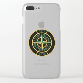 stone island Clear iPhone Case