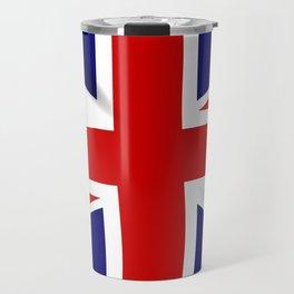 Union Jack Grunge Travel Mug