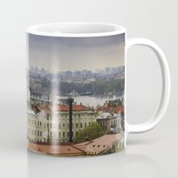russia Mugs featuring Saint Petersburg , Russia by LudaNayvelt