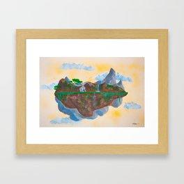 Noon's Floating Island #2 Framed Art Print
