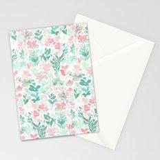 Flirt Mint Blush Stationery Cards