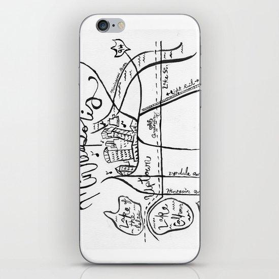 """Home Town Minneapolis"" iPhone & iPod Skin"