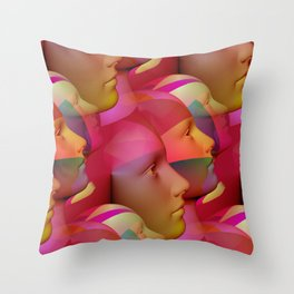 public viewing -b- Throw Pillow