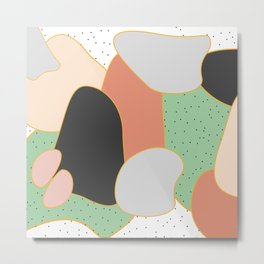 Desert stone Metal Print