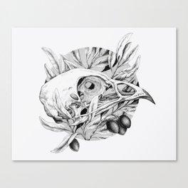 Bones and Olives Canvas Print