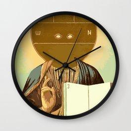 False Idols Wall Clock
