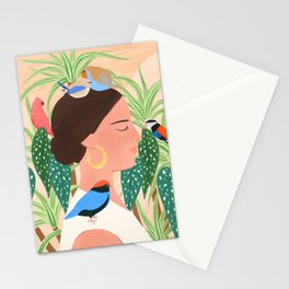 Bird Whisper Stationery Cards