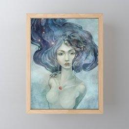 Zodiac Cancer Framed Mini Art Print
