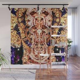 Exoskeleton Gold Wall Mural