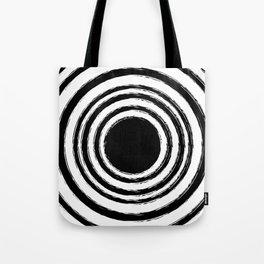 Painted Circles Tote Bag
