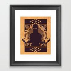 VANDALIZM Framed Art Print