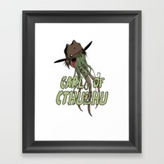 Carl of Cthulhu Framed Art Print