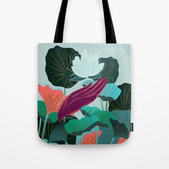 Lotus Magic - 05 Tote Bag