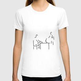 secretary typist office T-shirt