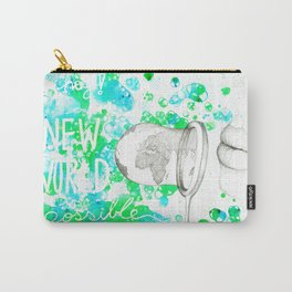 A New World is Possible Carry-All Pouch