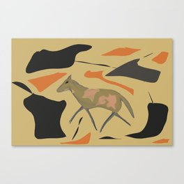 Trotting Pony Canvas Print