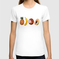 fruits T-shirts featuring Exotic Fruits by Michal Gorelick