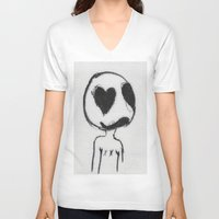 larry stylinson V-neck T-shirts featuring Larry by Anna Dunlap Hartshorn