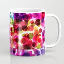 Kaleidoscopic Polka Dots Coffee Mug